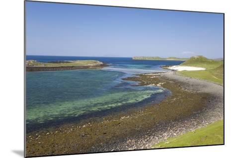 View over Shore at Low Tide to Distant Coral Beach-Ruth Tomlinson-Mounted Photographic Print