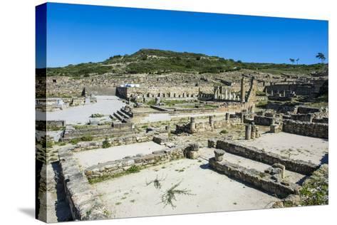 Ruins of Ancient Kameiros, Kalavarda, Rhodes, Dodecanese Islands, Greek Islands, Greece-Michael Runkel-Stretched Canvas Print