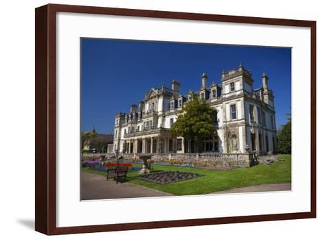 Dyffryn House, Dyffryn Gardens, Vale of Glamorgan, Wales, United Kingdom-Billy Stock-Framed Art Print