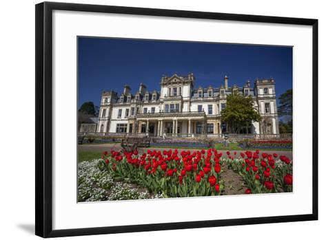 Dyffryn House, Dyffryn Gardens, Vale of Glamorgan, Wales, United Kingdom-Billy Stock-Framed Art Print