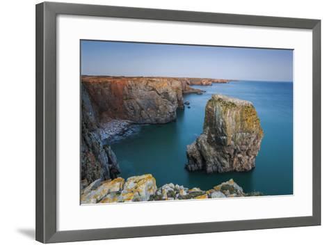 Stack Rocks, Castlemartin, Pembrokeshire, Wales, United Kingdom-Billy Stock-Framed Art Print