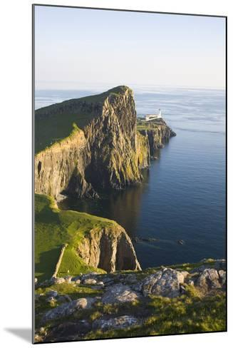 View to the Clifftop Lighthouse at Neist Point-Ruth Tomlinson-Mounted Photographic Print