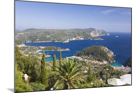 View over Liapades Bay from Hilltop Viewpoint Near Lakones-Ruth Tomlinson-Mounted Photographic Print