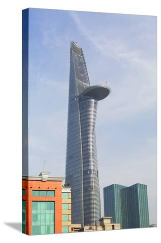 Bitexco Financial Tower, Ho Chi Minh City, Vietnam, Indochina, Southeast Asia, Asia-Ian Trower-Stretched Canvas Print