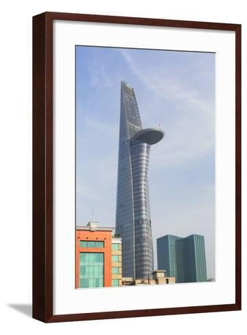Bitexco Financial Tower, Ho Chi Minh City, Vietnam, Indochina, Southeast Asia, Asia-Ian Trower-Framed Art Print