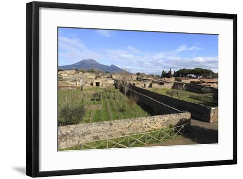 Elevated View to Mount Vesuvius-Eleanor Scriven-Framed Art Print