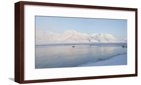 Dirigenten Mountain and Sea Ice-Stephen Studd-Framed Art Print