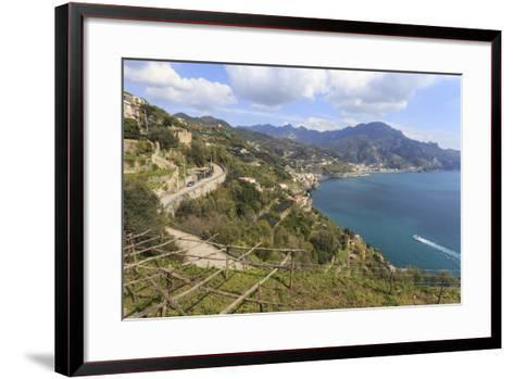 Coastal View Above Castiglione Di Ravello-Eleanor Scriven-Framed Art Print