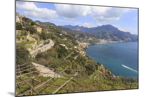 Coastal View Above Castiglione Di Ravello-Eleanor Scriven-Mounted Photographic Print