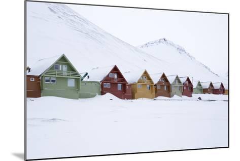 Longyearbyen Houses, Spitsbergen, Svalbard, Arctic Circle, Norway, Scandinavia-Stephen Studd-Mounted Photographic Print