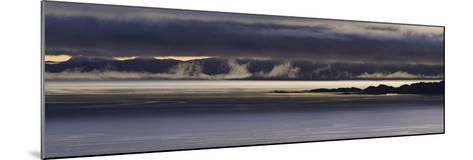 Panoramic View of Dawn Breaking across the Sound of Raasay and the Isle of Rona-John Woodworth-Mounted Photographic Print