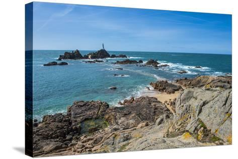 La Corbiere Lighthouse, Jersey, Channel Islands, United Kingdom-Michael Runkel-Stretched Canvas Print