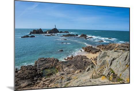 La Corbiere Lighthouse, Jersey, Channel Islands, United Kingdom-Michael Runkel-Mounted Photographic Print