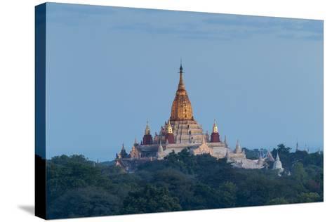 Ananda Temple at Dawn, Bagan (Pagan), Myanmar (Burma)-Stephen Studd-Stretched Canvas Print