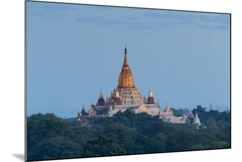 Ananda Temple at Dawn, Bagan (Pagan), Myanmar (Burma)-Stephen Studd-Mounted Photographic Print