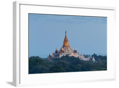 Ananda Temple at Dawn, Bagan (Pagan), Myanmar (Burma)-Stephen Studd-Framed Art Print