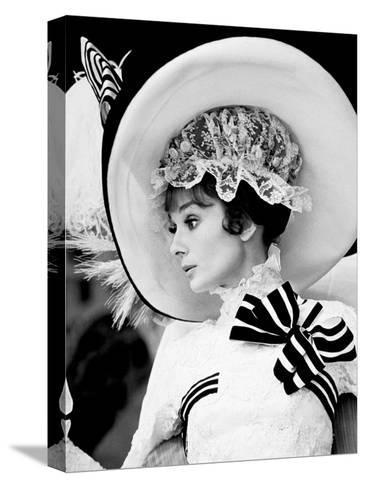 My Fair Lady, Audrey Hepburn 1964--Stretched Canvas Print