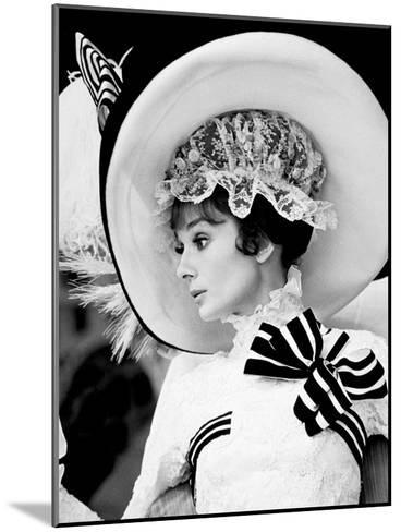 My Fair Lady, Audrey Hepburn 1964--Mounted Photo