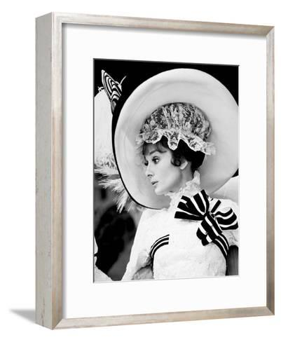 My Fair Lady, Audrey Hepburn 1964--Framed Art Print