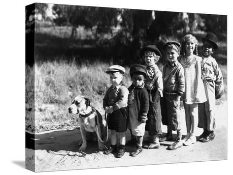 Serie Televisee Les Petites Canailles the Little Rascals, 1933--Stretched Canvas Print