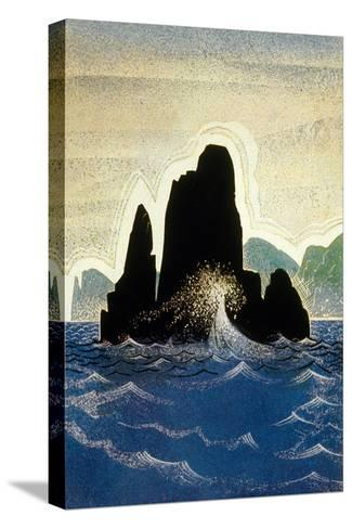 The Odyssey by Homere: the Rock of Gortyne, 1930-1933--Stretched Canvas Print