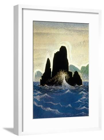 The Odyssey by Homere: the Rock of Gortyne, 1930-1933--Framed Art Print