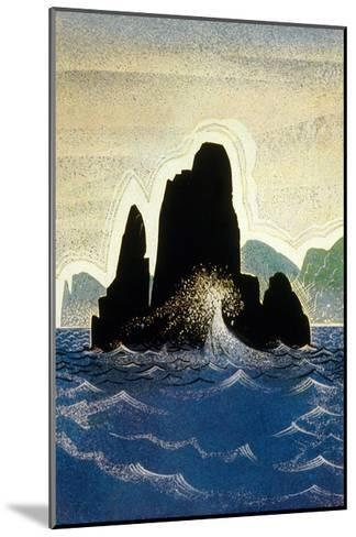 The Odyssey by Homere: the Rock of Gortyne, 1930-1933--Mounted Art Print