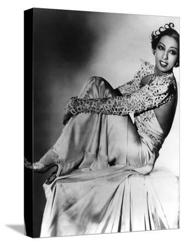 Josephine Baker--Stretched Canvas Print