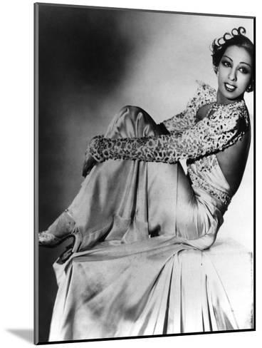Josephine Baker--Mounted Photo