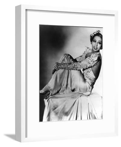 Josephine Baker--Framed Art Print