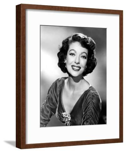 American Actress Loretta Young (1913-2000) C. 1943--Framed Art Print