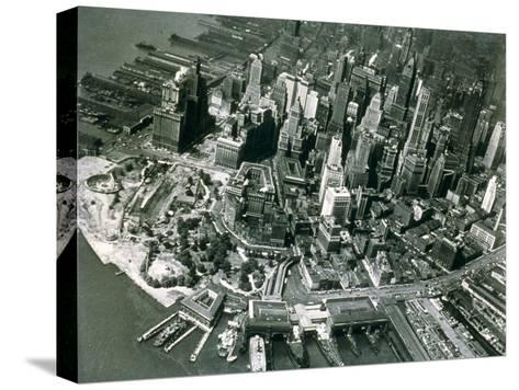 Lower Manhattan, New York, June 1947--Stretched Canvas Print