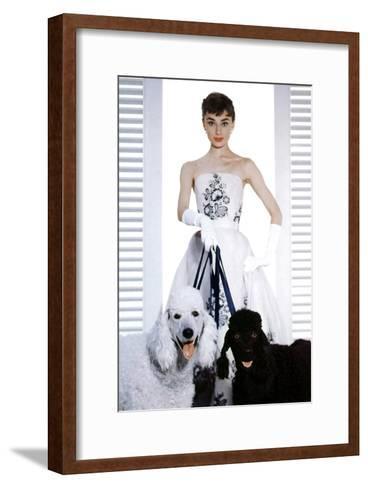Sabrina, Audrey Hepburn, 1954--Framed Art Print