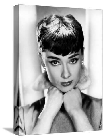 Sabrina, Audrey Hepburn, Directed by Billy Wilder, 1954--Stretched Canvas Print