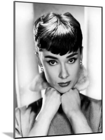 Sabrina, Audrey Hepburn, Directed by Billy Wilder, 1954--Mounted Photo