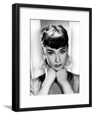 Sabrina, Audrey Hepburn, Directed by Billy Wilder, 1954--Framed Art Print