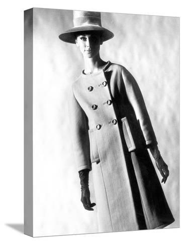 Capucci Coat in Spring Summer Collection 1963--Stretched Canvas Print