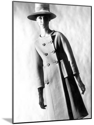 Capucci Coat in Spring Summer Collection 1963--Mounted Photo