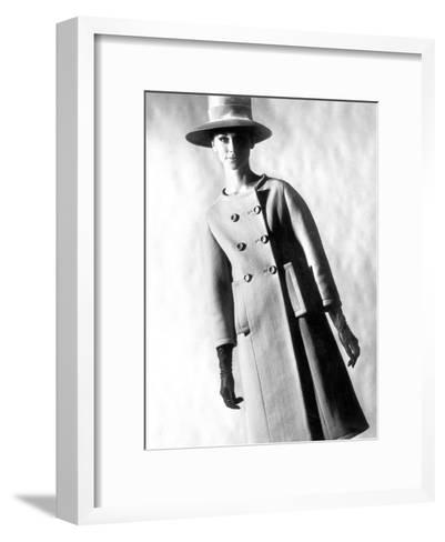 Capucci Coat in Spring Summer Collection 1963--Framed Art Print