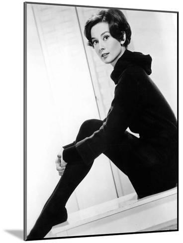 American Actress Audrey Hepburn C. 1957--Mounted Photo
