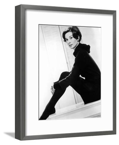 American Actress Audrey Hepburn C. 1957--Framed Art Print