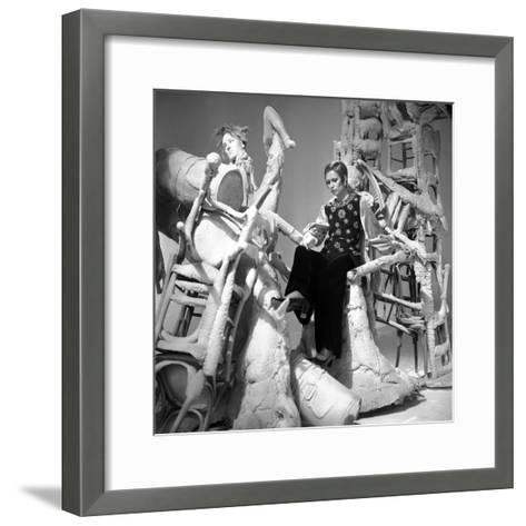Fashion Show for Television, 26 February 1969, France--Framed Art Print