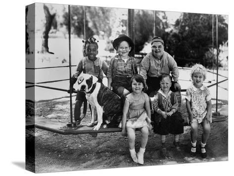 Series the Little Rascals/Our Gang Comedies, C. Late 1920S--Stretched Canvas Print