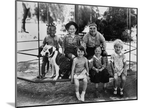 Series the Little Rascals/Our Gang Comedies, C. Late 1920S--Mounted Photo