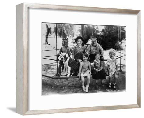 Series the Little Rascals/Our Gang Comedies, C. Late 1920S--Framed Art Print