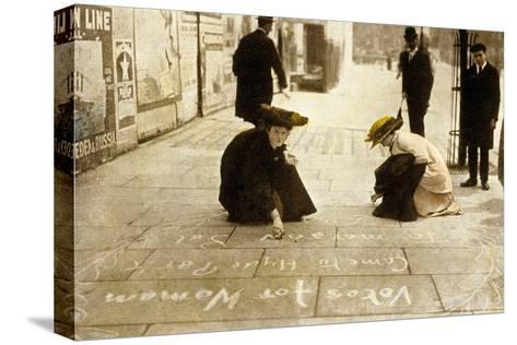 English Suffragettes, 1912--Stretched Canvas Print