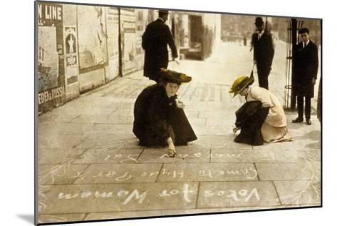 English Suffragettes, 1912--Mounted Photo