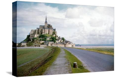 The Mont Saint Michel, France--Stretched Canvas Print