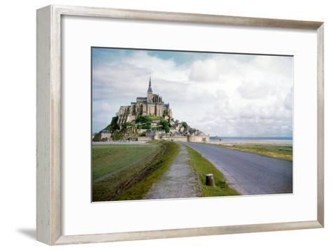 The Mont Saint Michel, France--Framed Art Print