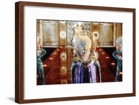 Mars Attacks, Tim Burton 1996--Framed Art Print